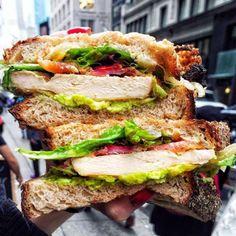 L'avocat... certes healthy, mais attention aux autre ingrédient dans votre sandwich club !