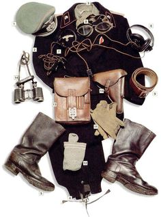 WWII uniforms - great pinspiration