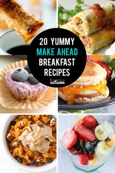 4 Points About Vintage And Standard Elizabethan Cooking Recipes! Make Ahead Breakfast Recipes Will Save Your Sanity On Busy School Mornings 20 Great Breakfast Ideas You Can Make In Advance Your Kids Will Love. Lunch Snacks, Clean Eating Snacks, Healthy Snacks, Kid Snacks, Back To School Breakfast, Make Ahead Breakfast, Morning Breakfast, Health Breakfast, Brunch Recipes
