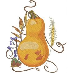 Season For Pumpkins - Kreations by Kara Custom Embroidery, Embroidery Thread, Machine Embroidery Designs, Pumpkins, Gourds, Free Design, Your Design, Thanksgiving Projects, History Page