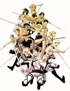 shingeki no kyojin!. New favorite anime period.