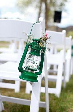Wedding Decor: Nautical wedding aisle decor// Photo by Cara Leonard Photography via Smitten Magazine