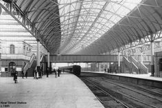 New St Station Birmingham before it was apparently improved Birmingham News, Birmingham City Centre, Concrete Deck, Steam Railway, New West, Yesterday And Today, Abandoned Buildings, Scenery, Louvre