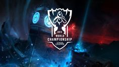 LOL world championship is popular in the world. This poster uses Tower of London as part of background to represent blue inhibitor (related to the game). Championship League, World Championship, League Of Legends Poster, Gmail Hacks, Tower Of London, Darth Vader, Lol, Neon Signs, Popular