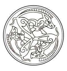 Celtic Boar Triad by ~darazan on deviantART