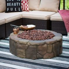 Red Ember 36 in. Clarksville Campfire Fire Pit with FREE Cover - Fire Pits at Hayneedle