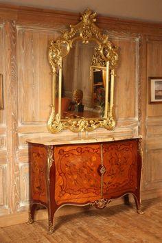 """Buffet """"Dubois"""" de style Louis XV signé ATELIERS ALLOT. Une sélection de la rédaction de www.source-a-id.com"""