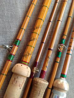 """""""One day, I'll own and fish one. I'd love to find ac quality bamboo rod for a decent price. Trout Fishing, Kayak Fishing, Fishing Tackle, Fishing Reels, Custom Fishing Rods, Bamboo Fly Rod, Best Fishing, Fishing Stuff, Fishing Pictures"""