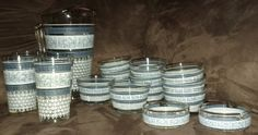 Vintage Greek Revival blue and white 18 by oldnsalvagedtreasure, $24.00