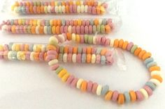 Sweet Wrapped Candy Necklaces Weddings, Party Bag fillers, Novelty 3, 6, 9, 12