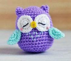 PATRON GRATIS BUHO AMIGURUMI 38299 Crochet Doll Pattern, Crochet Patterns Amigurumi, Crochet Hats, Mini, Beanie, Kawaii, Dolls, Knitting, Crochet Designs