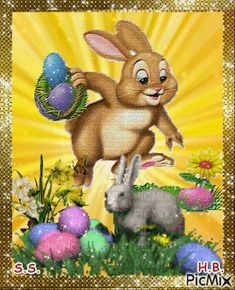 See the PicMix AAA! belonging to StellaStai on PicMix. Happy Easter Gif, Ostern Wallpaper, Fairy Wallpaper, Bunny Images, Just Magic, Easter Pictures, Cellphone Wallpaper, Beautiful Birds, Cute Animals
