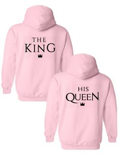 ffa1c9277 The king   his queen sudaderas con capucha