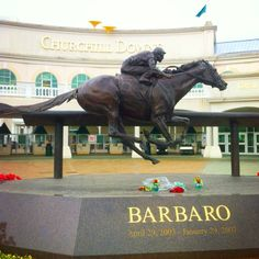 Louisville... is there any other place where you learn the names of winning race horses in school?