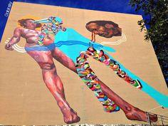 "January 25, 2013 · Graffitti-PonceDeLeón-Pda.22 1/2 — at Ave. Juan Ponce de León, Pda. 22 1/2, San Juan, Puerto Rico. Serie: ""Los Muros Hablan"" Autor:  País Origen: Año: 2012"