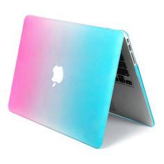 Nouvelle arrivée Double couleur de protection pour ordinateur portable cas dur qualité de la couverture de PC accessoires mallette pour ordinateur portable pour Apple MacBook 12 '' pouces