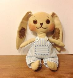 Stuffed animal Rabbit-Child friendly-Easter от NatashaArtDolls