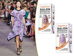 Sally Hansen and Prabal Gurung make nail strips for $10? BRB, running to CVS.