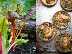 Swiss chard, pear and Gruyère tart… a savory small plate :: Cannelle et Vanille