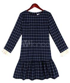 #Milanoo.com Ltd          #Shift Dresses            #Modern #Deep #Blue #Crewneck #Cotton #Blend #Shift #Dress                    Modern Deep Blue Crewneck Cotton Blend Shift Dress                            http://www.snaproduct.com/product.aspx?PID=5750525