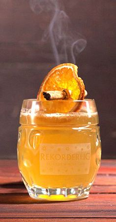 Fall For Sweden - Perry (or Pear Cider), Bourbon or Rye, Fresh Ginger, Angostura Bitters, Lime or Lemon