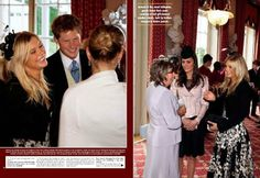 May 17, 2008 - Kate attended the wedding of Prince William's cousin, Peter Phillips, to Autumn Kelly. Prince Harry and his then-girlfriend, Chelsy Davey, also attended the wedding.