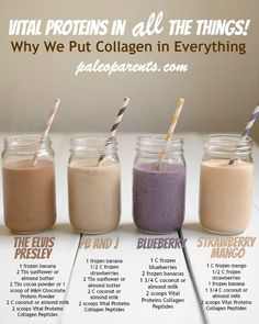 Why & How we put Vital Proteins gelatin and everything, PLUS four new smoothie recipes!! Don't miss the discount code for 10% off and free shipping!