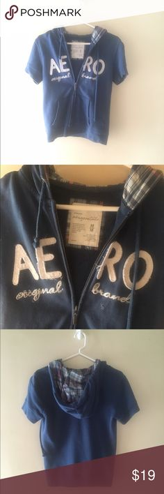 Aeropostale Short Sleeve Vest True to size. No stains or flaws🚫No trades ✅ Price Negotiable  ✅ Bundles ▪️smoke free/pet free home 📬 Same/Next day shipping  📷 Instagram: @laurenweichmann 📱Pinterest: weichln Aeropostale Jackets & Coats Vests