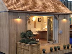 garden office - I'd love something like this for my workshop/studio space :3