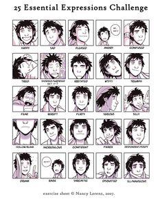 Twenty-Five Faces of Ten by Blue-Ten on deviantART
