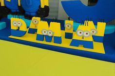 Despicable Me Minion themed birthday party via Kara's Party Ideas | Games…
