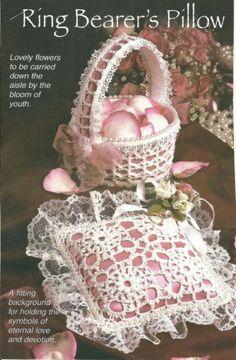 Ring-Bearers-Pillow-Flower-Girls-Basket-crochet-PATTERN-INSTRUCTIONS