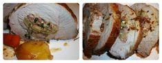 Coscia di maiale ripiena