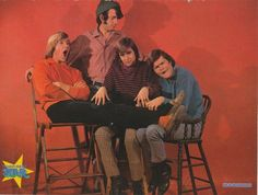 THE MONKEES pinup - Being silly boys! DAYDREAM BELIEVER
