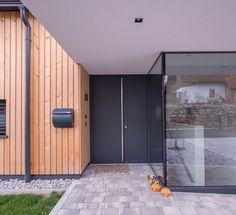Haus ACB Bungalows, Garage Doors, Outdoor Decor, Modern, Home Decor, Human Settlement, Door Entry, Architecture, Trendy Tree