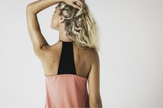 stacey mesh v pyjama cami in coral available now @ marceau.com.au Pyjamas, Summer 2015, Cami, Backless, Coral, Mesh, Range, Beautiful, Dresses
