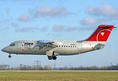 Mesaba Airlines   BAe146/Avro RJ-85- 2009 Memphis