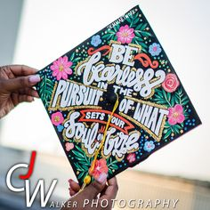 """Graduation Cap Designs - Inspirational Quote - """"Be fearless in the Pursuit of Wh. - Happy New Year 2019 Quotes For Graduation Caps, Graduation Cap Designs, Graduation Cap Decoration, Nursing Graduation, College Graduation, Graduation Ideas, Grad Pics, Graduation Pictures, Grad Hat"""