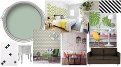 Award winning DIY and Interiors blogger Melanie Lissack is brainstorming ideas for her guest bedroom with Inkmill Vinyl wall decals