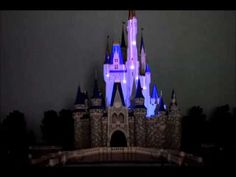 ▶ Amazing projection show on miniature Cinderella Castle model - YouTube
