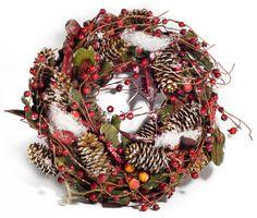 DIY Christmas Wreaths From Your Garden