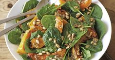 Pair this nutty salad with pizza, a barbecue lunch or enjoy it as a meal of its own. See notes section for Low FODMAP diet tip.