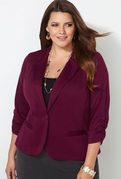 Knit Ponte Blazer-Find it at the Avenue at Vacaville Commons in Vacaville, CA!
