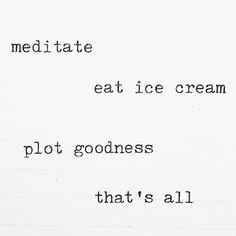 Your Monday guide (#nicecream is crucial). #iamwellandgood #regramlove @carolynbrownnutrition