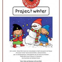 Project-winter-1 Het project winter bevat taalactiviteiten, rekenactiviteiten, spel- en bewegingslessen en hoeksuggesties aan de hand van de boeken 'Heksje Mimi tovert sneeuw' en Willewete 'Seizoenen'. Kathleen Amant maakte prachtige extra illustraties speciaal voor dit project .