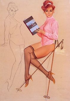Vintage Pin Up Girls of Fritz Willis Gakkery 1 (7)