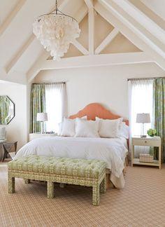 contemporary bedroom by Caitlin Moran Interiors