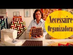 """Bolsa necessaire organizadora em tecidos """"Floral"""" do DVD Bolsas por Maria Adna do Maria Adna Ateliê - YouTube"""