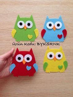 Owl Crafts, Craft Stick Crafts, Preschool Crafts, Easy Crafts, Diy And Crafts, Crafts For Kids, Arts And Crafts, Paper Crafts, Sewing Crafts
