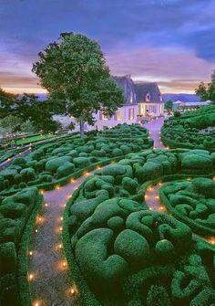 The Garden of Marqueyssac, Vezac, France